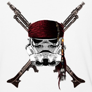 Pirate Troopers - Baseball T-Shirt