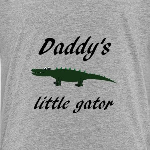 daddy's little gator Kids' Shirts - Kids' Premium T-Shirt
