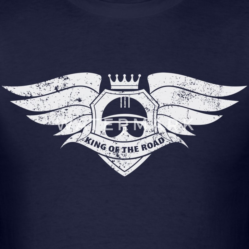 King of the Road - Men's T-Shirt