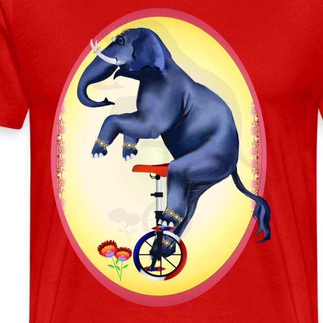 Elephant-Unicycle