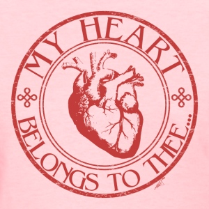 My Heart Belongs to Thee Women's TShirt - Women's T-Shirt
