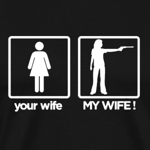 My Wife Your Wife - Men's Premium T-Shirt
