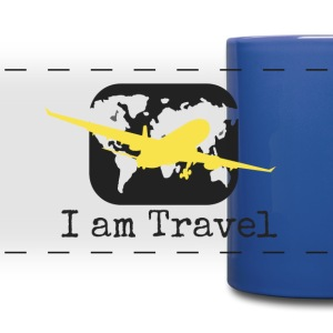 I Am Travel- Travel Mug - Full Color Panoramic Mug