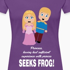 ANGRY PRINCESS Women's T-Shirts