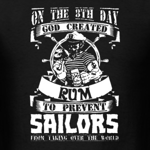 Sailors Love Rum - Men's T-Shirt
