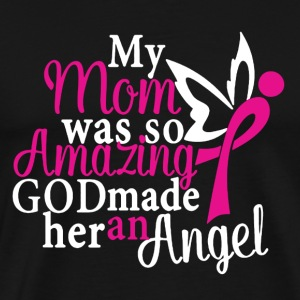 Angel Mom Shirt - Men's Premium T-Shirt