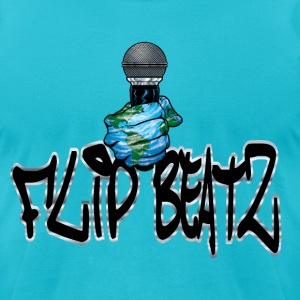 I flip Beatz Men's - Men's T-Shirt by American Apparel