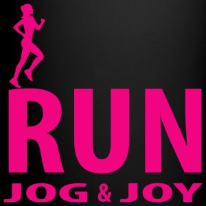Run, jog and joy Mugs & Drinkware - Full Color Mug