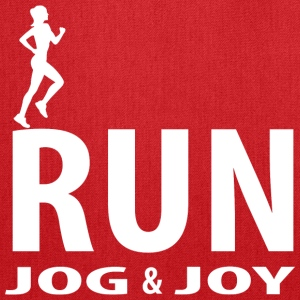 Run, jog and joy Bags & backpacks - Tote Bag