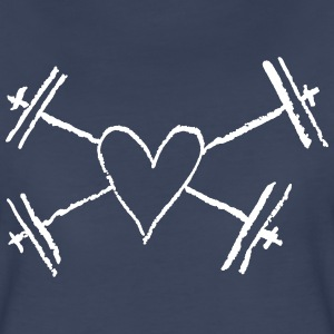 I love weightlifting - Women's Premium T-Shirt