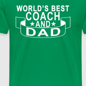 best_coach_dad_ - Men's Premium T-Shirt