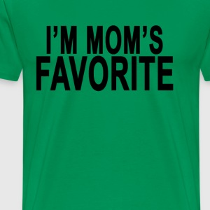 im_moms_favorite_ - Men's Premium T-Shirt