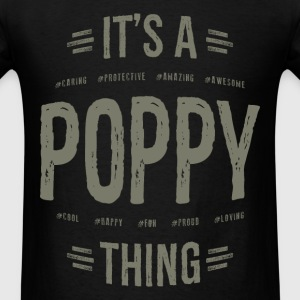 Poppy T-shirt Gift! - Men's T-Shirt