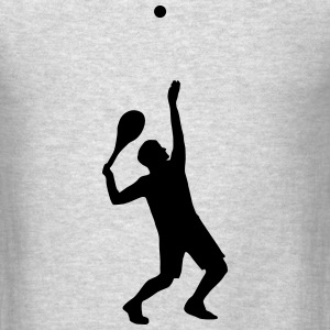 tennis, tennis player T-Shirts - Men's T-Shirt