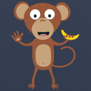 monkey with banana Sportswear - Men's Premium Tank