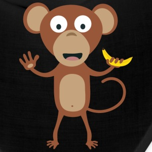 monkey with banana Caps - Bandana