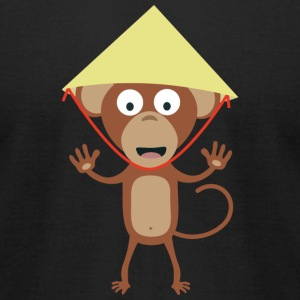 Vietnamese monkey T-Shirts - Men's T-Shirt by American Apparel