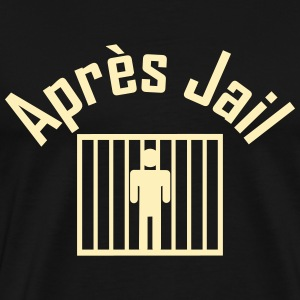 apres jail T-Shirts - Men's Premium T-Shirt
