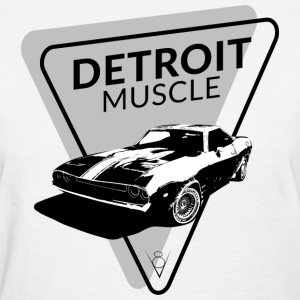 Detroit Muscle T-Shirts - Women's T-Shirt