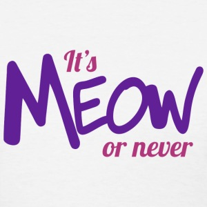 It's meow or never Women's T-Shirts - Women's T-Shirt