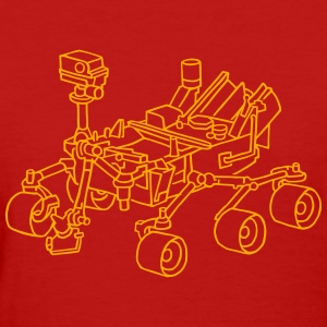 Curiosity, the Marsrover - Women's T-Shirt