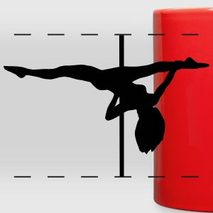 Pole dance, pole dancing Mugs & Drinkware - Full Color Panoramic Mug