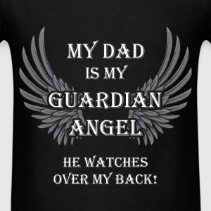 Dad - Guardian Angel - Men's T-Shirt