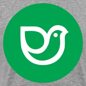 Green design bird icon T-Shirts - Men's Premium T-Shirt