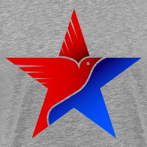 Amrical flag eagle amrica T-Shirts - Men's Premium T-Shirt