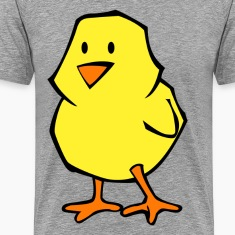 Chick flat colors T-Shirts
