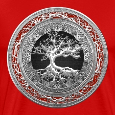 Silver Celtic Tree of Life