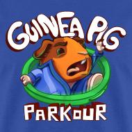 Design ~ Guinea Pig Parkour Men's T-Shirt