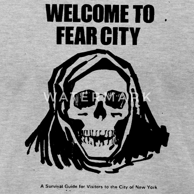Welcome to Fear City - Men's T-Shirt by American Apparel