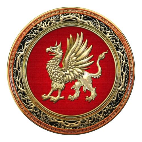 Sacred Golden Griffin