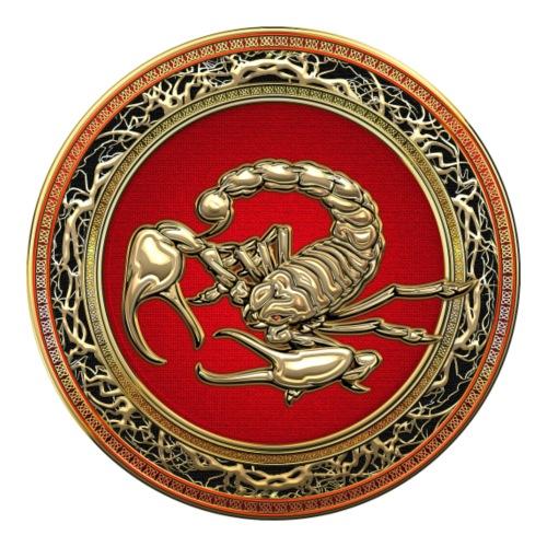 Sacred Golden Scorpion