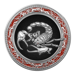 Sacred Silver Scorpion