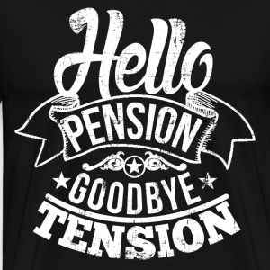 Hello Pension Retirement T-Shirts - Men's Premium T-Shirt