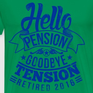 Retirement 2016 T-Shirts - Men's Premium T-Shirt
