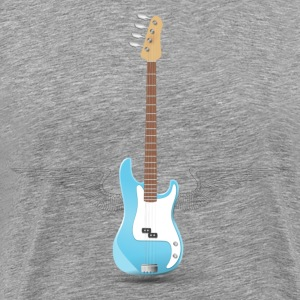 Guitar with wings clip art T-Shirts - Men's Premium T-Shirt