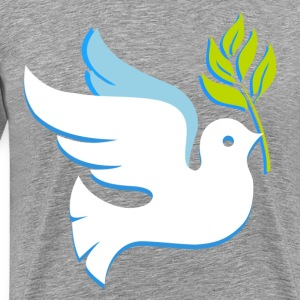 Christmas dove T-Shirts - Men's Premium T-Shirt