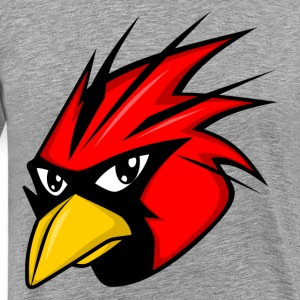 Free red bird head T-Shirts - Men's Premium T-Shirt