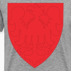 Eagle on a shield clip art T-Shirts