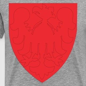 Eagle on a shield clip art T-Shirts - Men's Premium T-Shirt
