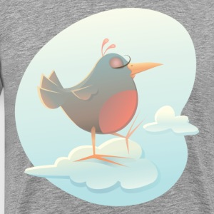 Twitter bird on cloud T-Shirts - Men's Premium T-Shirt