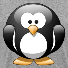 Cartoon penguin clip art T-Shirts