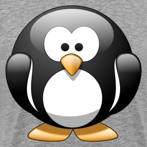 Cartoon penguin clip art T-Shirts - Men's Premium T-Shirt