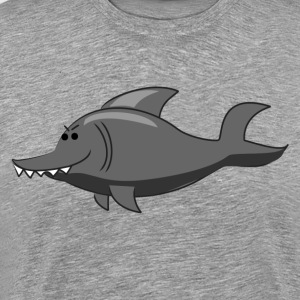 Sharp toothed dolphin T-Shirts - Men's Premium T-Shirt