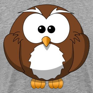 Cartoon owl clip art T-Shirts - Men's Premium T-Shirt