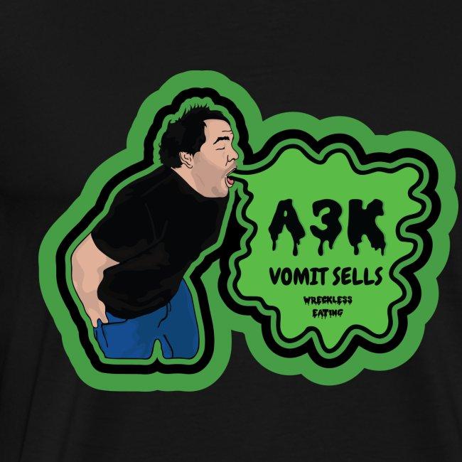 A3k Vomit Alert Shirt