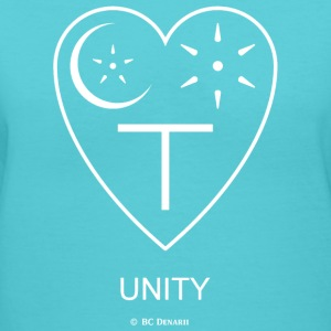 UNITY - Women's V-Neck T-Shirt